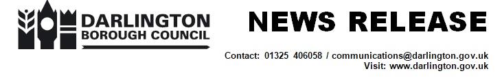 Darlington Borough Council News Release